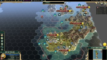 Civilization 5 Conquest of the New World England Deity - Victory in Europe
