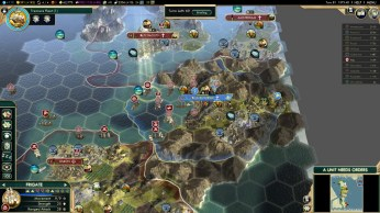 Civilization 5 Conquest of the New World Tea and Crumpets for Everyone - Battle of La Rochelle