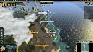 Civilization 5 Conquest of the New World Tea and Crumpets for Everyone - Portuguese Coastline