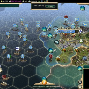 Civilization 5 Conquest of the New World France Deity - Growing Pirate Fleet