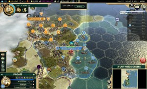 Civilization 5 Conquest of the New World France Deity - Veterans vs Holland
