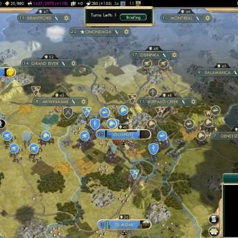 Civilization 5 Conquest of the New World Tout le Monde Francophone - South America