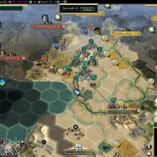 Civilization 5 Conquest of the New World Shoshone Deity - Aztec Front
