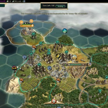 Conquest of the New World Native American Strategy Shoshone fail 6 - One tile free