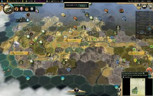 Civilization 5 Conquest of the New World Inca Deity Game 6: Great land, but FR dominates