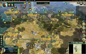 Civilization 5 Conquest of the New World Inca Deity Game 8: War with PT and ES