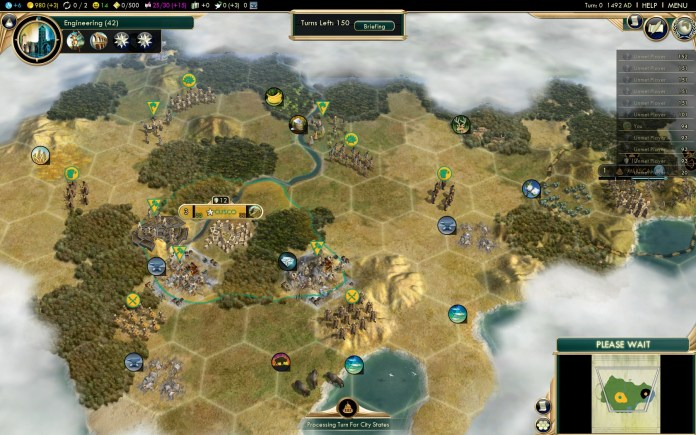 Civilization 5 Conquest of the New World Inca Settler - Start
