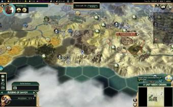 Civilization 5 Conquest of the New World Aztecs Deity 1 - Prevent Portuguese Colony