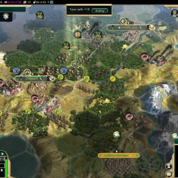 Civilization 5 Conquest of the New World Iroquois Deity 2 - Horsemen of the Plains saving the day