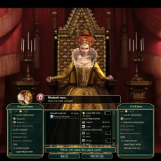 Civilization 5 Conquest of the New World Iroquois Deity 2 - Bribe EN vs FR