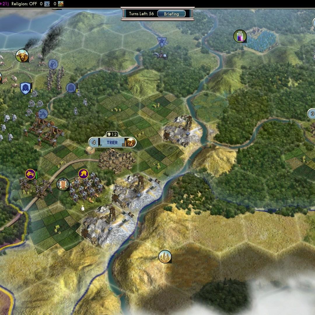 Fall of Rome Franks Deity 14 Defend Trier