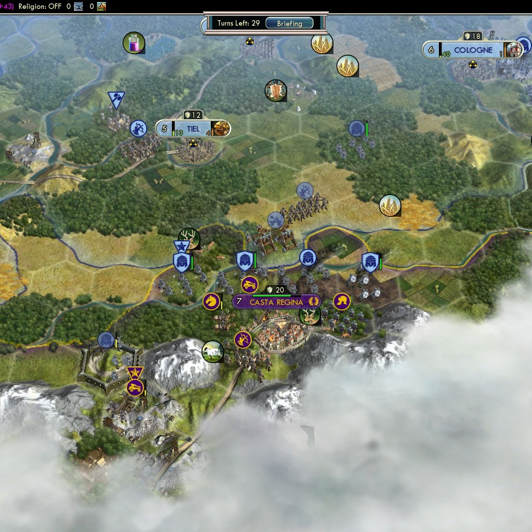 Fall of Rome Franks Deity 41 Castra Regina