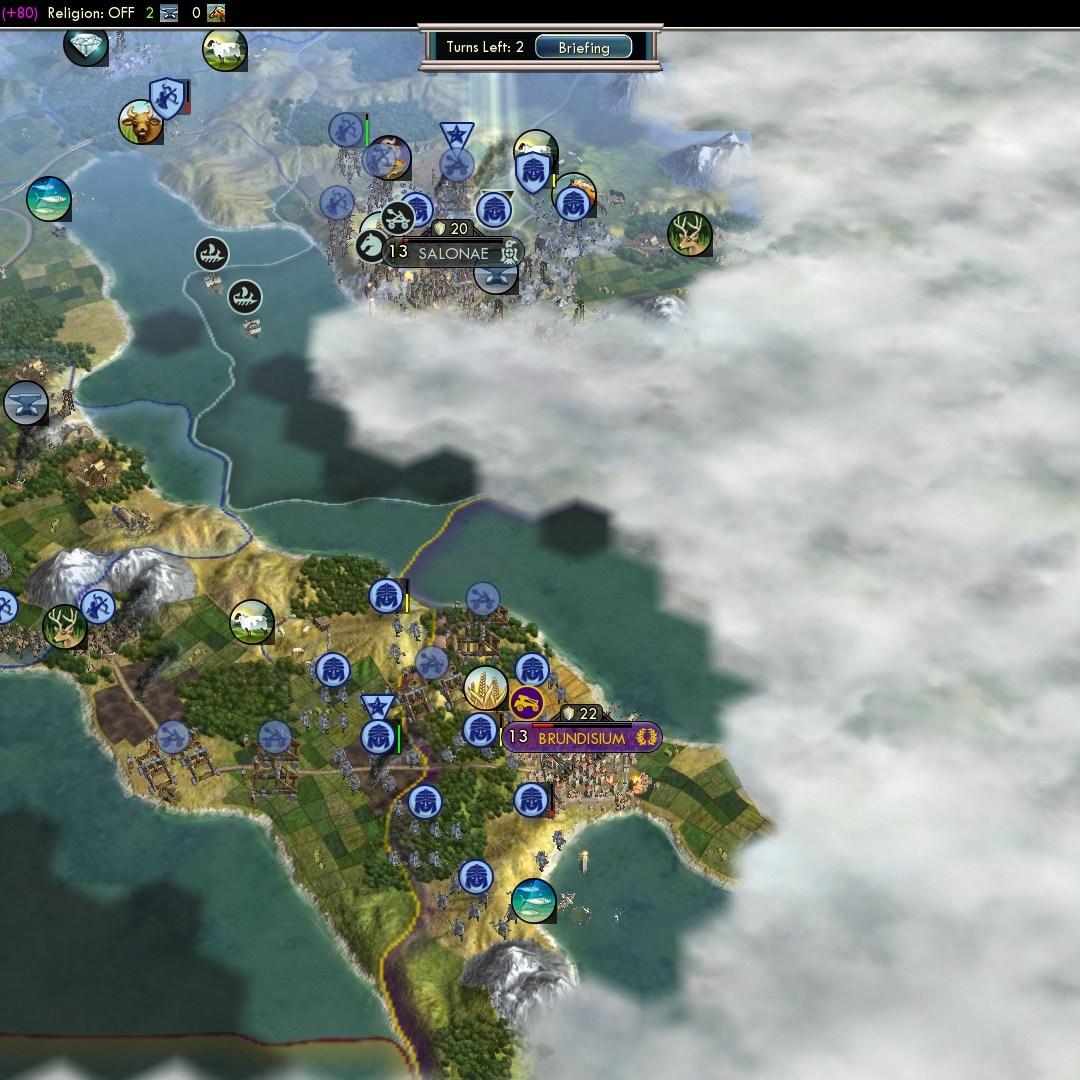 Fall of Rome Franks Deity 68 Brundisium and Salonae