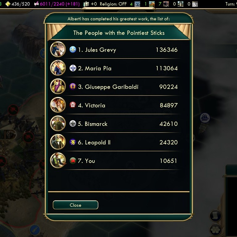 Civilization 5 Scramble for Africa Ethiopia Deity - Strongest Army