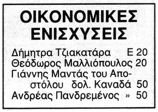 OIKONOMIKES