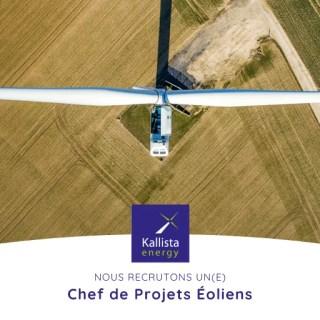 Kallista Energy recrute chef de projets Bordeaux 2020