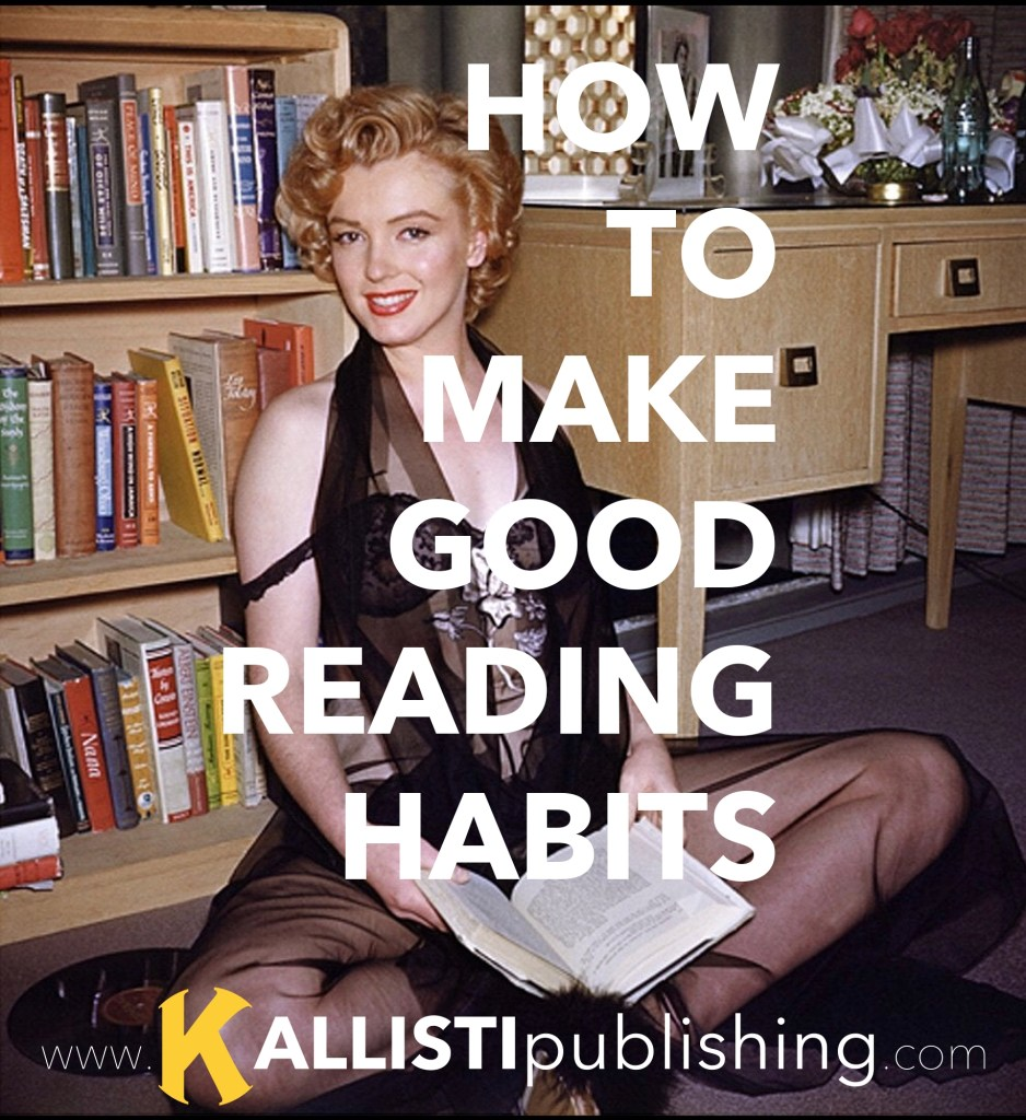 Make Good Reading Habits with Marilyn Monroe