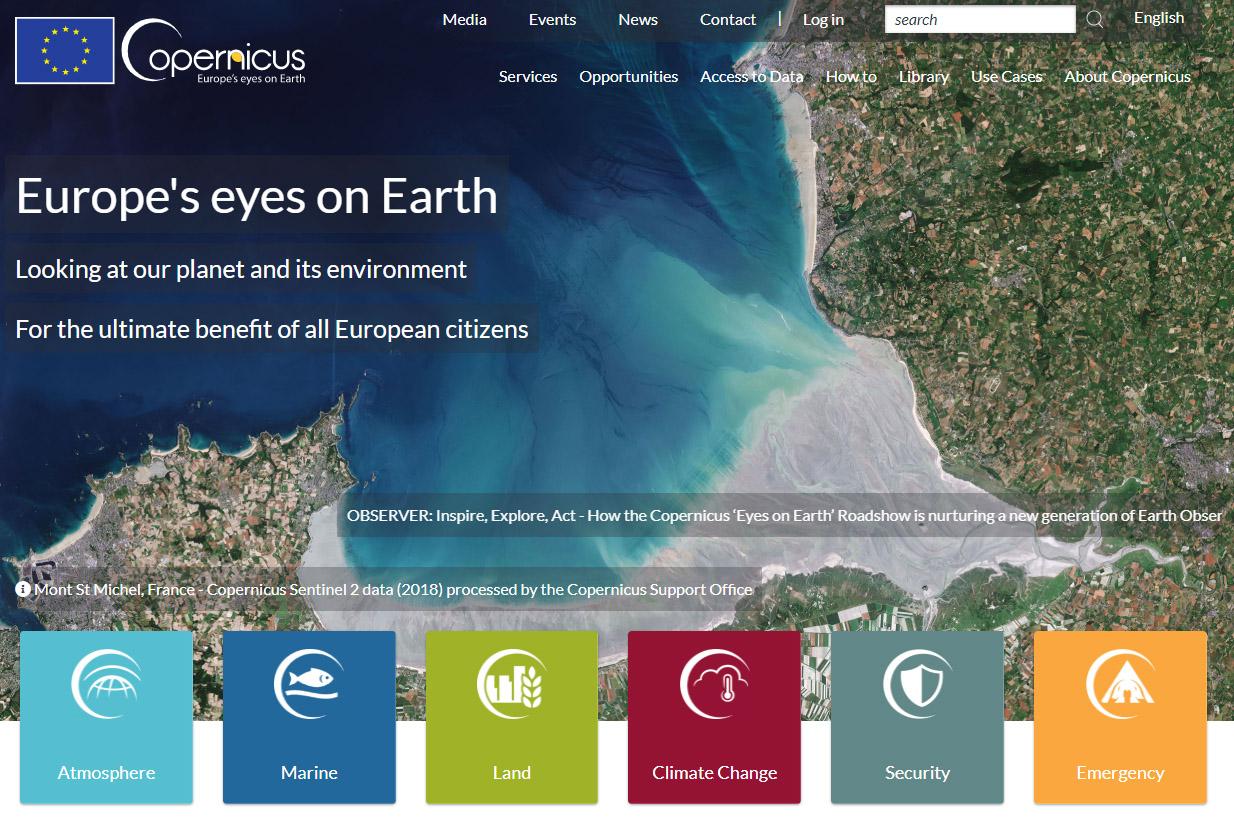 updated satellite maps