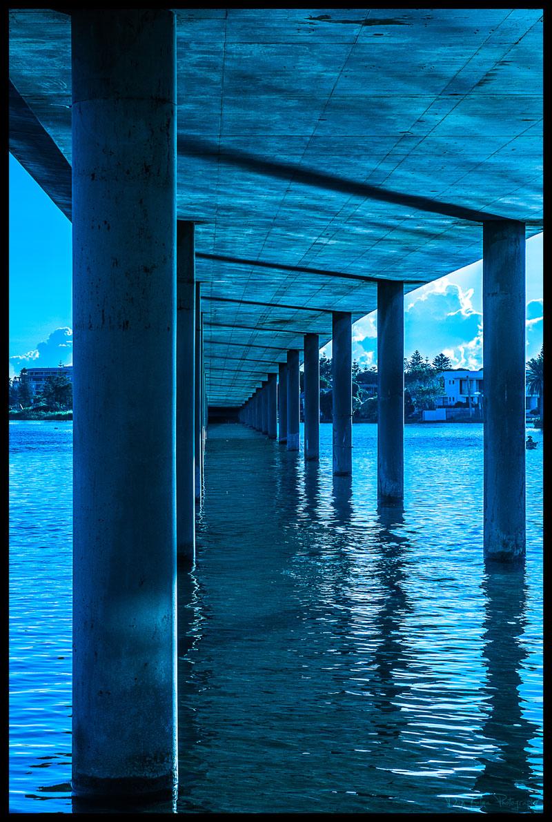 The Entrance New South Wales australia under the bridge dan kalma photography