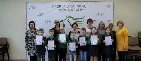 Pradinių klasių mokinių matematikos olimpiada