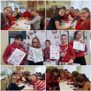5c klasė kūrė etiketes su energija, nagrinėjo ir pristatė su gamtosauga susijusias problemas.