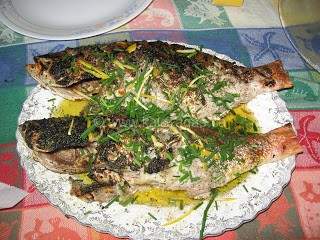 Grilled Yellow Tail Snapper