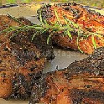 Maple-Bourbon Pork Chops