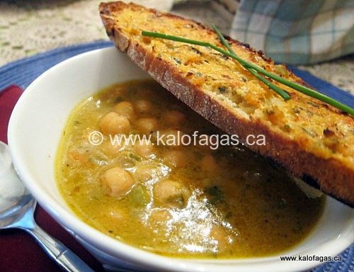 Chickpea Soup from Sifnos