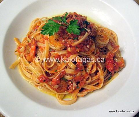Shrimp & Pasta of St. Nicholas