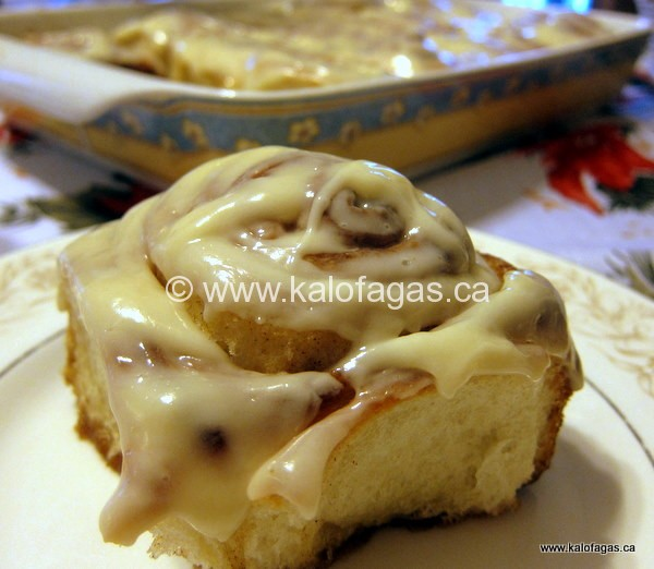 Cinnamon Rolls, Like the Ones at Cinnabon!