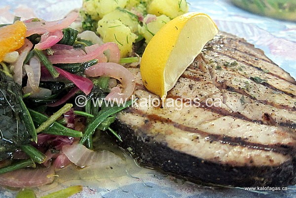 how to cook amberjack on the grill