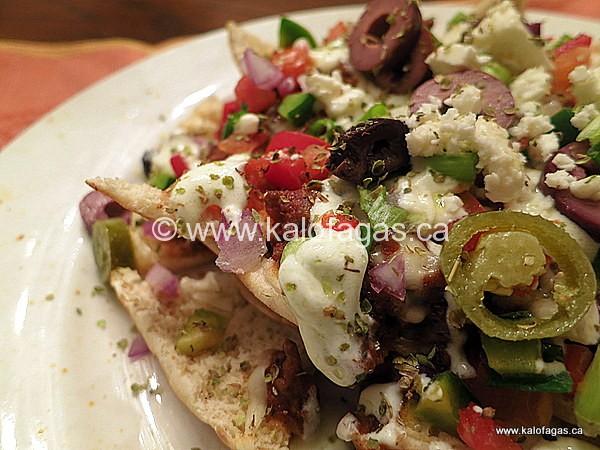 Greek-Inspired Nachos
