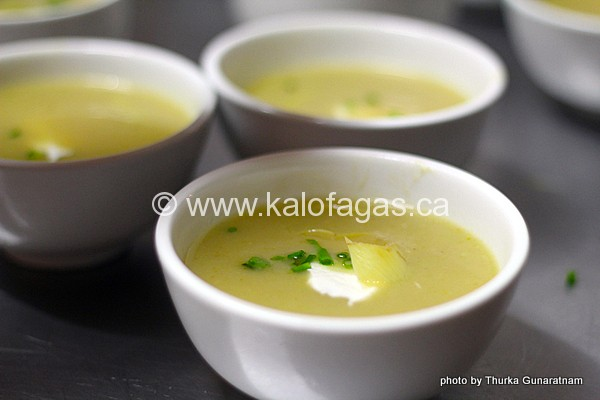 Artichoke Soup With Greek Yogurt