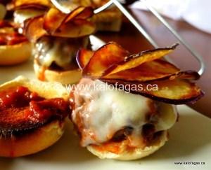 Moussaka Burgers