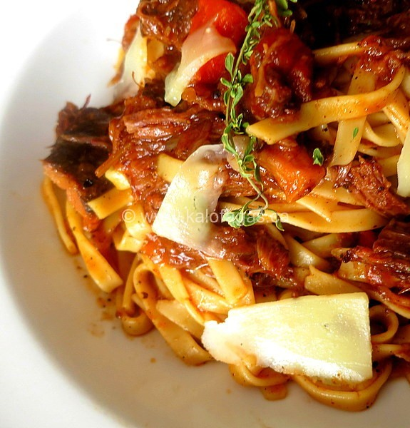Resurrection Lamb Pasta