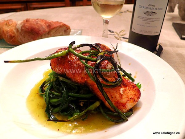 Paprika-Crusted Haddock Loin With Vlita