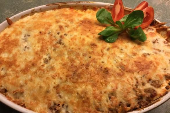 Lasagne lowcarb