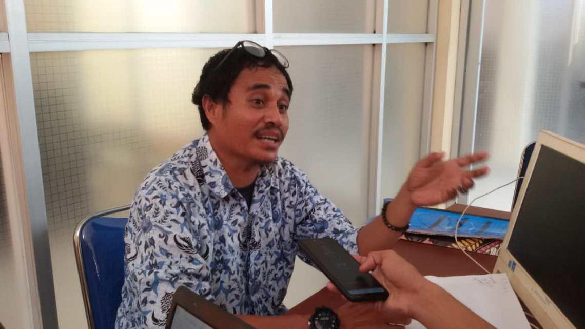 Ketgam : Kabid Kedaruratan Logistik BPBD Konsel, Sumartono