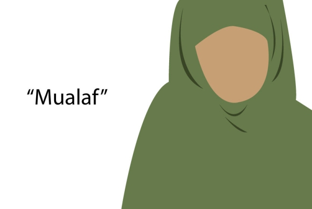 Ketgam : Ilustrasi Mualaf