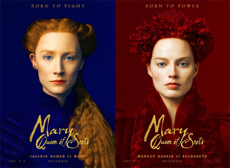 'Mary, Queen of Scots' poster