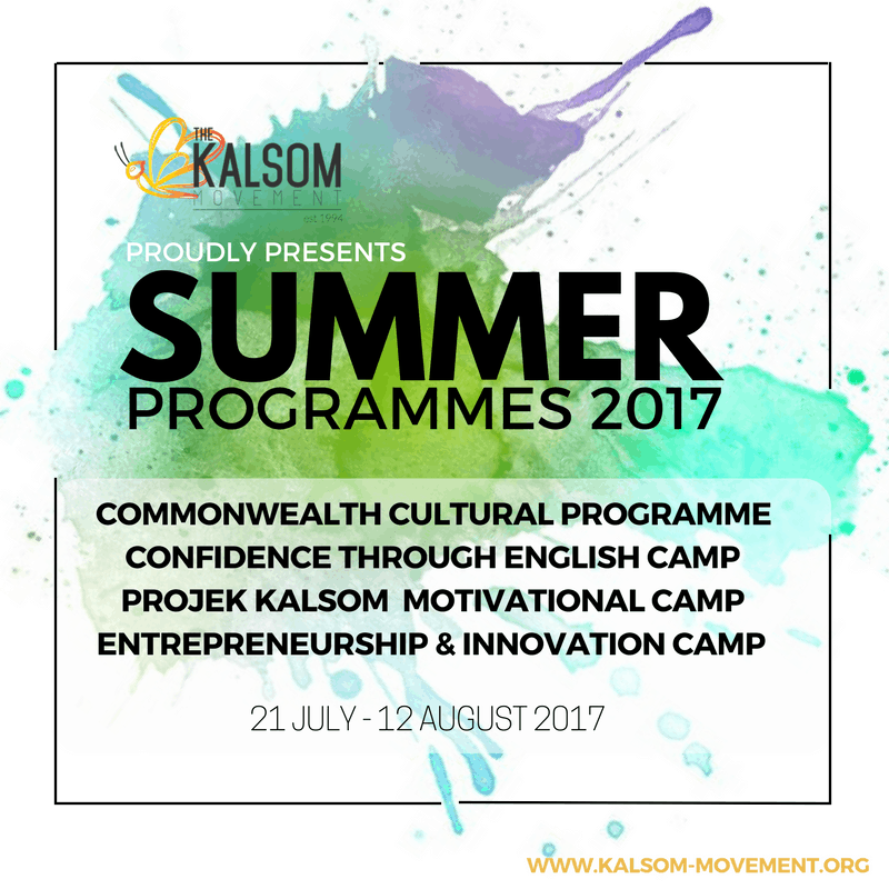 The Kalsom Movement Summer Programmes 2017