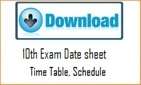HPBOSE 10th Exam Date Sheet 2020