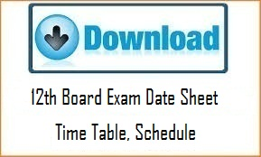 HPBOSE 12th Exam Date Sheet 2020, HP Board Plus two time table