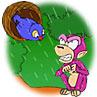 การ์ตูนสนุก_การ์ตูนไทย_คลิปนิทาน_นิทานเด็ก_วีดีโอนิทาน_ลิงกับนกขมิ้น