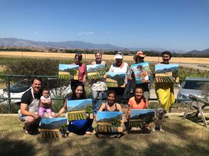 Painting in the Vineyard with Gypsy Studios @ Kalyra Winery