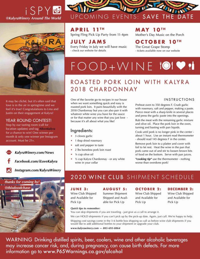 Kalyra Winery News