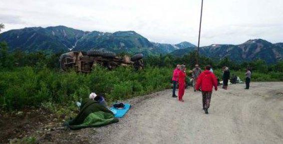 МЧС в аварии Урала с туристами на Камчатке пострадали 12 человек