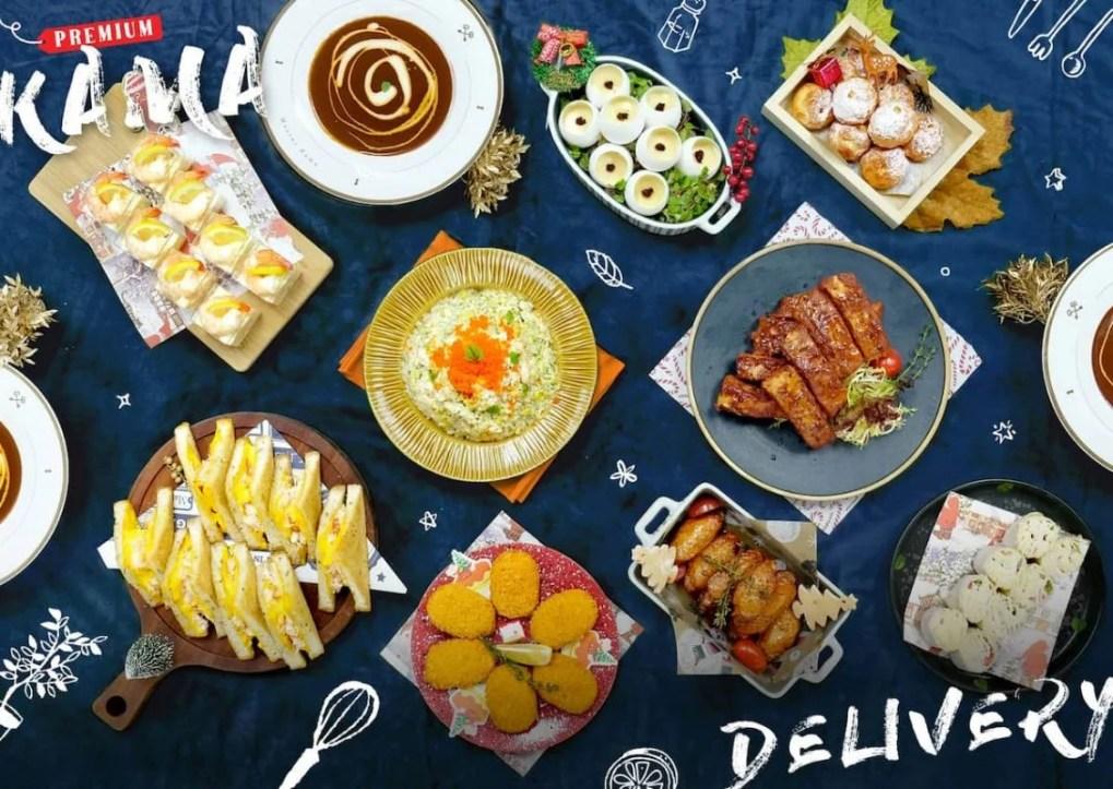 上門到會訂購 Kama Delivery為各位預備各款抵食外賣美食,有多款一口小食及西式主菜供預訂!