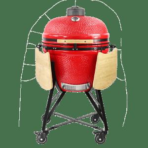 Kamado Madness Maxi Pro 25 crveni