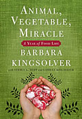 book cover for Animal, Vegetable, Miracle